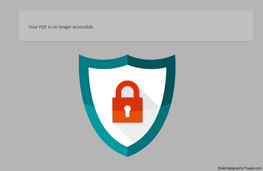 Access Denied to PDF