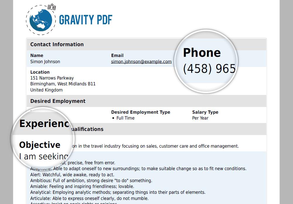 Automatic PDF Generator Plugin for WordPress | Gravity PDF