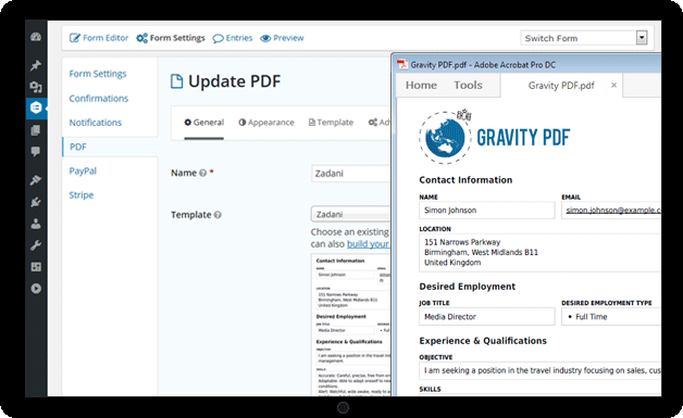 Gravity PDF 4.0 Screenshot