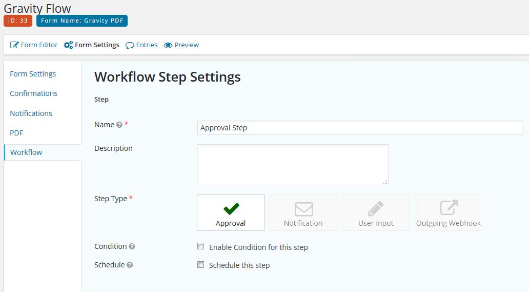Gravity Flow Workflow Setup