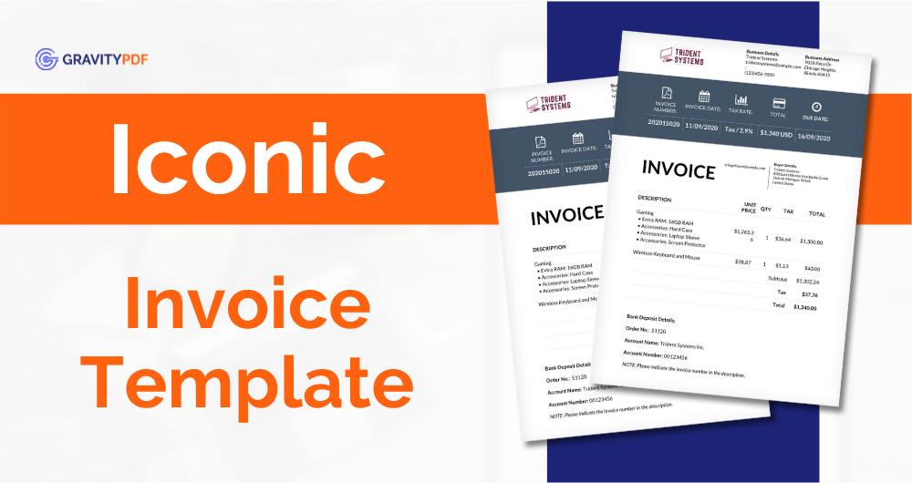 New Invoice Iconic (Image)