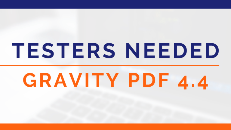 Testers Needed for Gravity PDF 4.4 (Image)