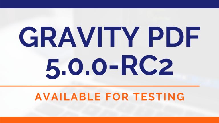 Gravity PDF 5.0.0-RC2 (Image)