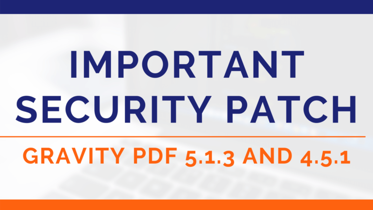 GPDF 5.1.3 and 4.5.1 Security Patch (Image)