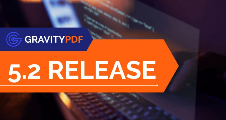 Gravity PDF 5.2 Release (Image)