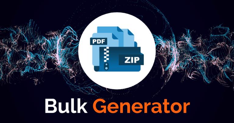 Gravity PDF Bulk Generator Add-on (Artwork)