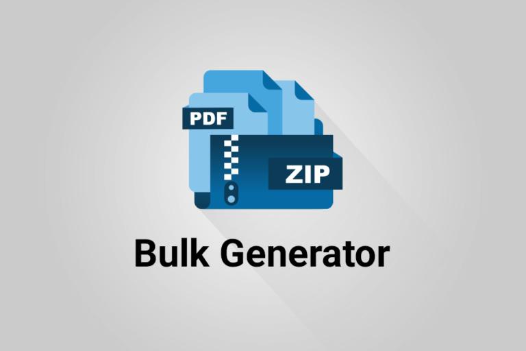 Bulk Generator