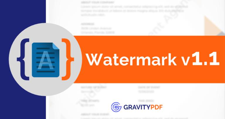 Watermark 1.1 (Artwork)
