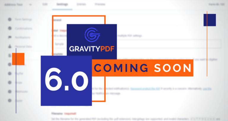 Gravity PDF 6.0 Pre-announcement (Artwork)