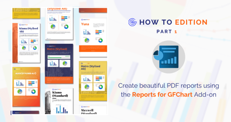 How To: Create beautiful PDF reports using the Gravity PDF Reports for GFChart Add-on (Image)