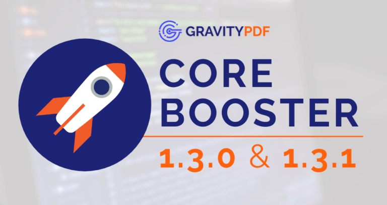 Core Booster 1.3.0 and 1.3.1 Update (Image)