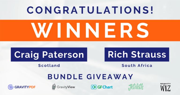 Plugin Bundle Giveaway Winners (Image)