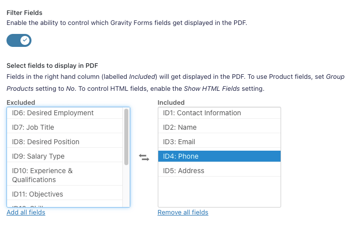 Customise Fields with Core Booster