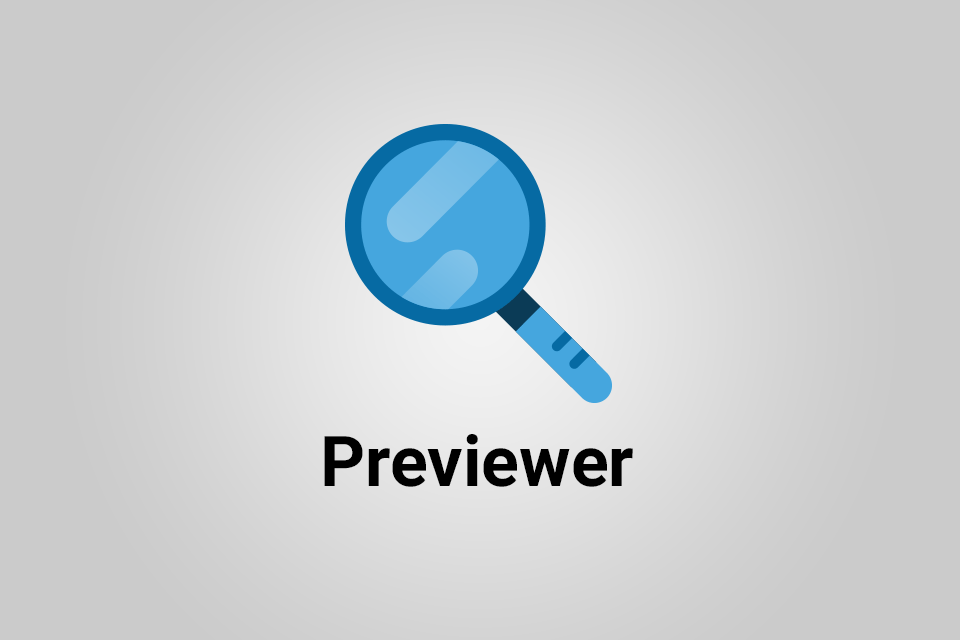 Previewer add-on