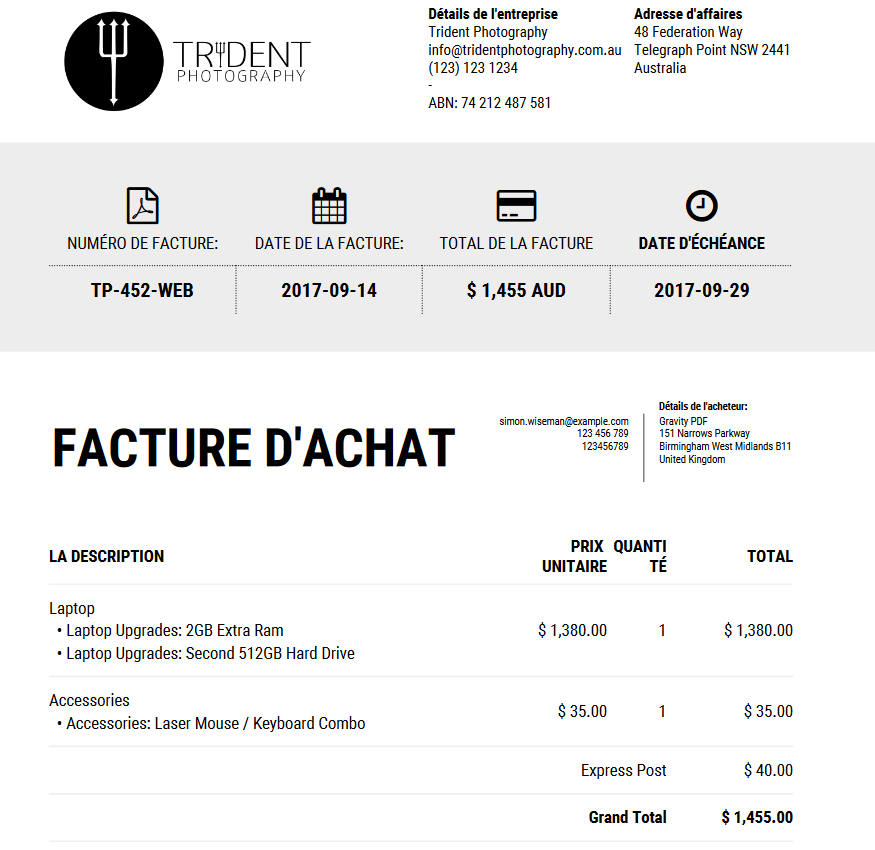 Great French Invoice Template Images New Invoice Iconic Available